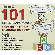 NM10100 - The Best 101 Children's Songs
