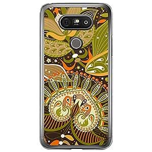 Loud Universe LG G5 Colorful Paisley 4 Designed Transparent Edge Case - Multi Color