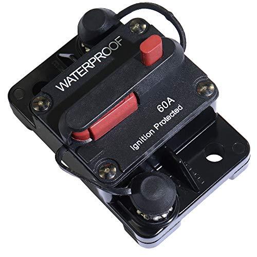 60 Amp Circuit Breaker Manual Power Fuse Reset by iztor (Image #1)