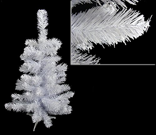 Darice Unlit White Colorado Pine Artificial Christmas Tree, 2