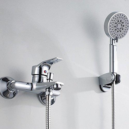 Lalaky Taps Faucet Kitchen Mixer Sink Waterfall Bathroom Mixer Basin Mixer Tap for Kitchen Bathroom and Washroom Handheld Nozzle Dark Cold Hot Mixing Valve