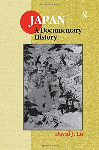 Japan: A Documentary History (East Gate Books) from Brand: M E Sharpe Inc