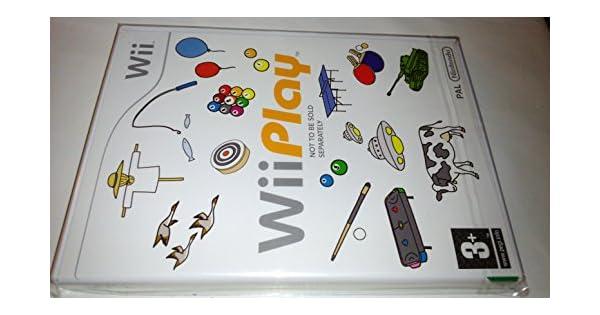 Wechselnde - Wii Play (no incluye mando): Amazon.es: Videojuegos
