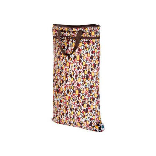 Planet Wise Hanging Diaper Wet/Dry Bag - Bangle Dots