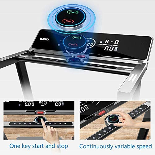 Treadmill Home Treadmill Folding Motorised Treadmill Magnetic Levitation Treadmill, Folding Indoor Multifunctional Ultra-quiet Fitness Equipment Walking Treadmill for Home And Office Cardio Training 3