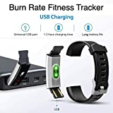 Burn-Rate Fitness Tracker Heart Rate Monitor