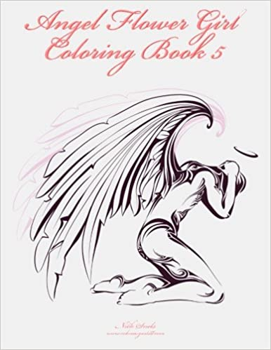 Amazon.com: Angel Flower Girl Coloring Book 5: Angels, Demons ...