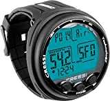 Mixed Gas Giotto Diving Wrist Computer (Black/Black) by Cressi
