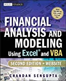 Financial Analysis and Modeling Using Excel and VBA (Wiley Finance), Chandan Sengupta, 047027560X