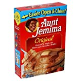 Aunt Jemima Original Pankcake Mix, 16 oz (Pack of 6)