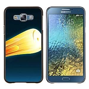 For Samsung Galaxy E7 E700 Case , Fuego cohete 2- Diseño Patrón Teléfono Caso Cubierta Case Bumper Duro Protección Case Cover Funda
