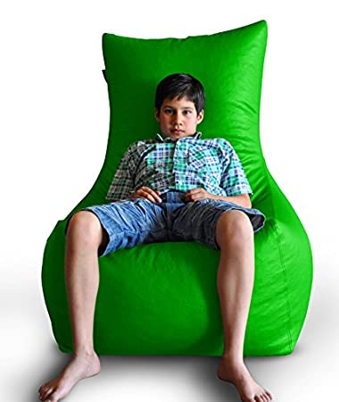 Amazon.com: Estilo homez silla puf XXXL Tamaño Color Verde ...