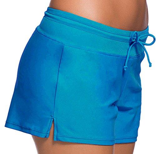 confit you - Shorts - para mujer azul claro