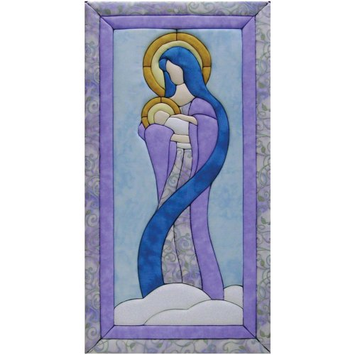 Quilt Magic 10-Inch by 19-Inch Mary and Baby Jesus Kit
