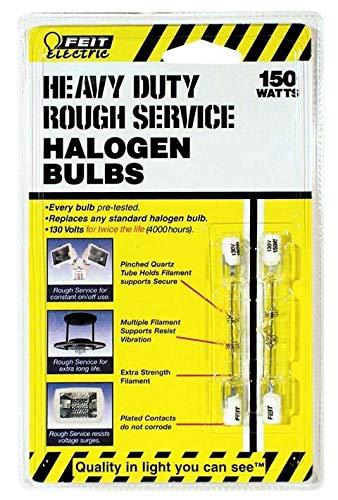 (Feit Electric BPQ150T3CLRS2 150 Watt Heavy Duty Double Ended T3 Halogen)