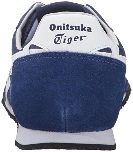 Onitsuka Tiger Serrano Mode Sneaker Blått Tryck / Vit