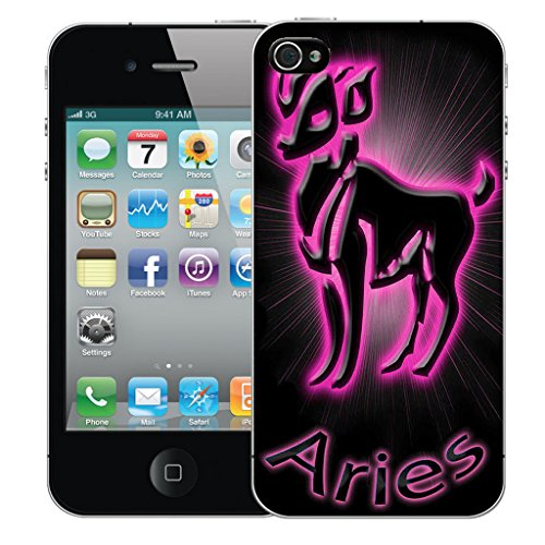 Mobile Case Mate iPhone 5s Silicone Coque couverture case cover Pare-chocs + STYLET - Pink Aries pattern (SILICON)