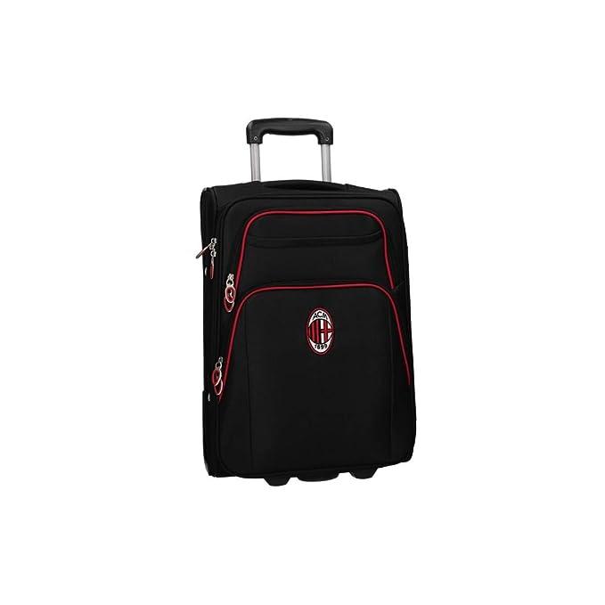 Maleta semirrígida MILAN negro equipaje de mano cabina ryanair VS430: Amazon.es: Ropa y accesorios