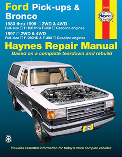 ford bronco repair manual - 1