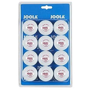 Joola 1-Star 40 mm Entrenamiento Pelotas de Tenis de Mesa 12 Unidades