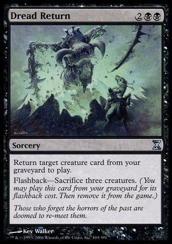 Magic: the Gathering - Dread Return - Time - Online Returns