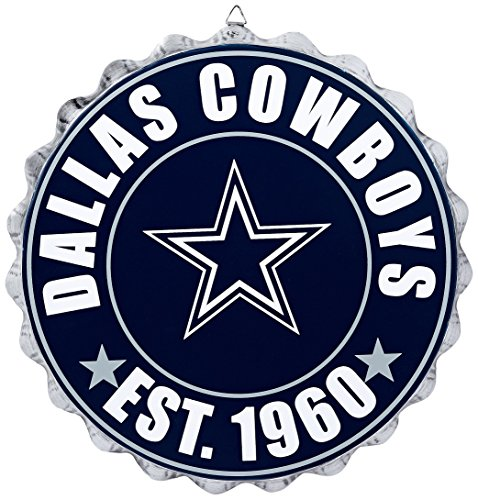 Dallas Cowboys 2016 Bottle Cap Wall Sign