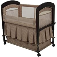 Arms Reach Co-Sleeper Cambria Bassinet, Toffee