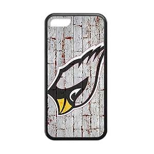 KJHI Arizona Cardinals Hot sale Phone Case for iPhone 5c Black