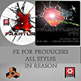 Frakture FX Library - Propellerhead Reason Refill - 7500+ Sound Effects Use in Reason 5 / 6 / 7 / 8