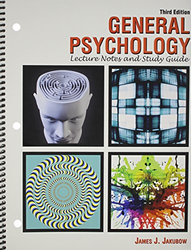 General Psychology: Lecture Notes and Study Guide