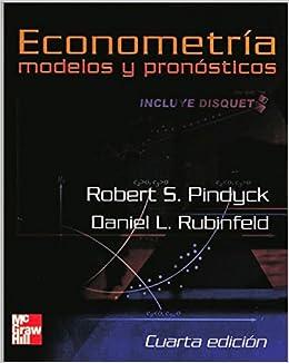 econometria modelos y pronosticos pindyck