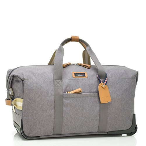 Storksak Travel Cabin Carry On with Organizer, Grey by StorkSak