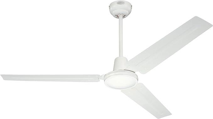 Ventilatore a soffitto FERRO CON INTERRUTTORE Bianco Ventilatore 142 cm 3 livelli molto silenzioso
