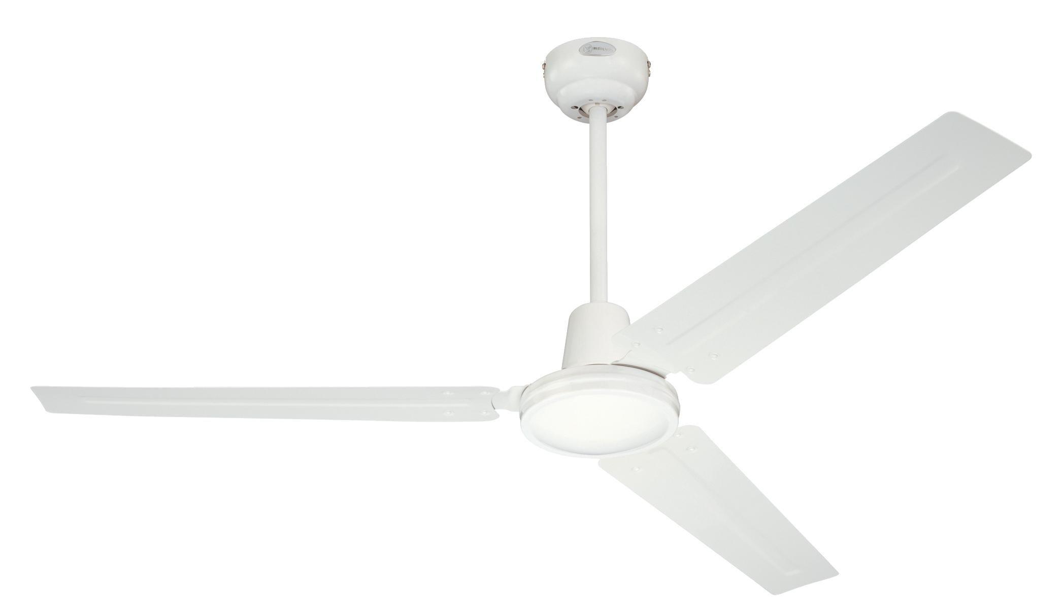 Westinghouse 7226840 Industrial Ventilateur de plafond Métal blanc product image