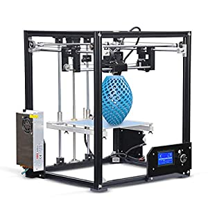 Tonglingusl 3d printers high performance 210 x 210 x 280 mm print size x5 diy 3d printer high precision professional 3d printer
