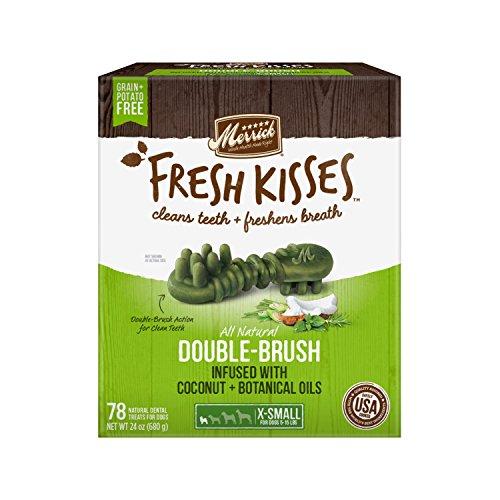 Fresh Kisses Coconut Oil + Botanicals Extra Small Brush - Value Box (78 Ct)