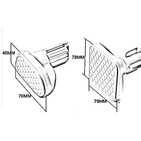 Amazon Com Dcah Shower Curtain Rod Bathroom Bathroom Door Shower