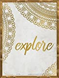 18x24 Wander Henna Gold 4 by Allen, Kimberly: Gold Bamboo KA-RC-241D1