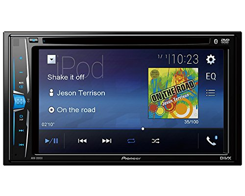Volunteer Audio Pioneer AVH-201EX Double Din Radio Install Kit with CD Player Bluetooth USB/AUX Fits 2000-2005 Ford Thunderbird, 2000-2006 Lincoln LS by Volunteer Audio (Image #3)