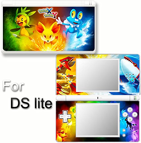 (Pokemon X Y XY Popular NEW SKIN DECAL VINYL STICKER COVER for Nintendo DS Lite)