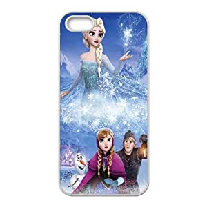 Frozen Black Phone Case for iPhone 5S