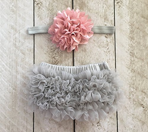 Ruffle Bloomer Flower Headband Newborn product image