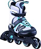 Best Girls Inline Skates - K2 Skate Marlee Inline Skates, Silver/Blue, 11-2 Review