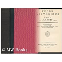 Peder Victorious: A Novel by Ole Edvart Rolvaag (1929-06-04)