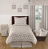 Giraffe Kids Bedding 4 Piece Twin Girl or Boy Set