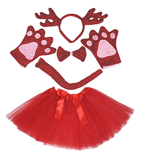 Christmas Costume Red Deer Reindeer Headband