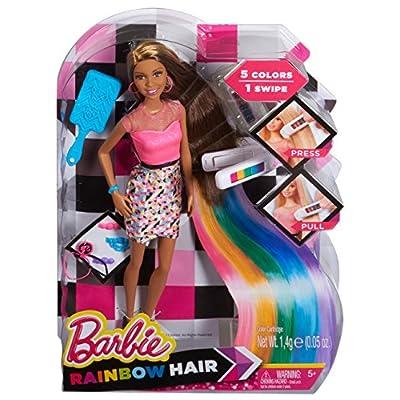 Barbie Rainbow Hair Nikki Doll: Toys & Games