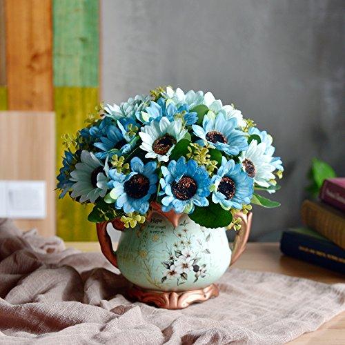 JUSTYOU Simulación europea flor de seda sala de estar muebles para ...