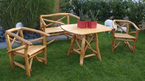 tpfgarden Muebles de Jardín muebles de jardín, juego, bancos de ...