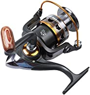 Gadget Zone High Quality DBpower DK 6000 Fishing Reel With Anti-Twist Roller 10 BB +1 RB Stainless Steel Beari